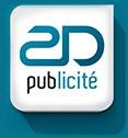 2D Publicité Logo